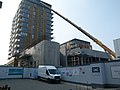2016 Woolwich, Crossrail Station construction site 07.jpg