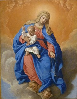 Our Lady of the Rosary Title of the Virgin Mary