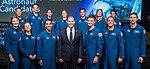 2017 class of NASA astronauts with Jim Bridenstine (cropped).jpg
