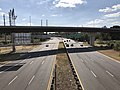 2019-10-09 14 59 02 View south along Virginia State Route 241 (Telegraph Road) from the overpass for Interstate 95-Interstate 495 (Capital Beltway) on the edge of Rose Hill and Huntington in Fairfax County, Virginia.jpg