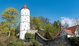 20200413 Weisser Turm Biberach