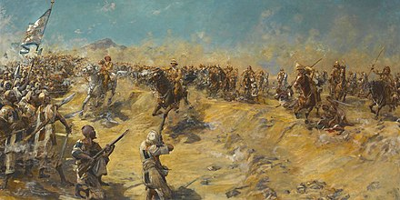 The charge of the 21st Lancers at Omdurman 21lancers.JPG