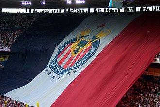 C.D. Guadalajara - Guadalajara's banner.
