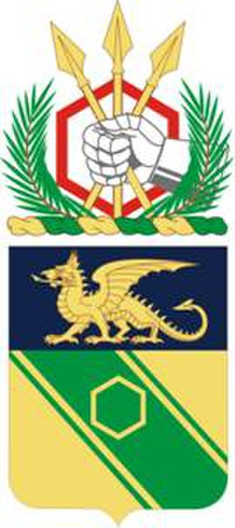 22nd Chemical Battalion (United States) - Coat of arms
