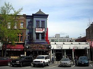 Madam's Organ Blues Bar - Madam's Organ Blues Bar (center) on 18th Street, N.W., in the Adams Morgan neighborhood of Washington, D.C.