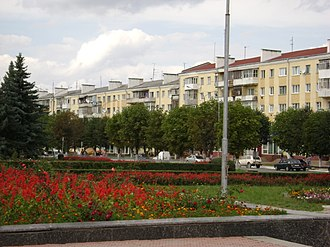 Dolyna - Central part of Dolyna