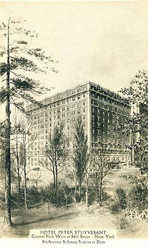 257 Central Park West - Image: 257 hps postcard