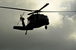 Black helicopter - Unmarked black helicopters have been described in conspiracy theories since the 1970s