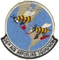 26th Air Refueling Squadron Emblem - 2
