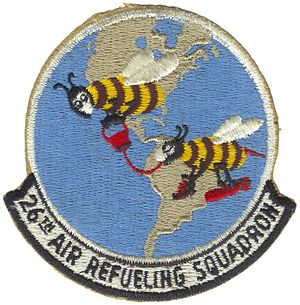 26th Air Refueling Squadron - Image: 26th Air Refueling Squadron Emblem 2