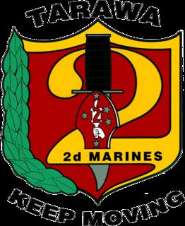 2nd Marine Regiment Infantry regiment of the United States Marine Corps