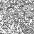 3. Militärische Aufnahme (-1887) Bana Gora, Miedzybrodzie am San.JPG