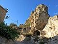 314 La roca Foradada, al poble de Foradada.JPG
