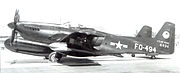 319th FAWS North American F-82F Twin Mustang 46-494