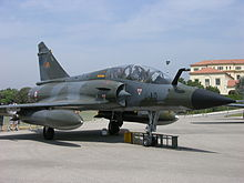 339 4-AD Mirage 2000N belongin to EC.1 4 DAUPHINE based at BA116 Luxeuil-St.Sauveur seen at the 2007 Salon de Provence show (3113989142).jpg
