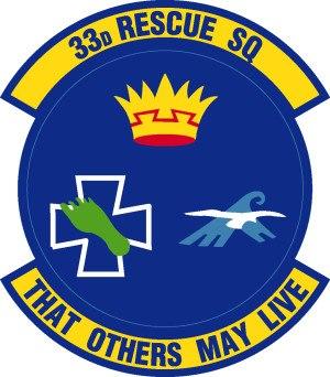33d Rescue Squadron - 33d Rescue Squadron Patch