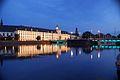 3484viki Uniwersytet Wrocławski - Gmach Główny wieczorem. Foto Barbara Maliszewska.jpg