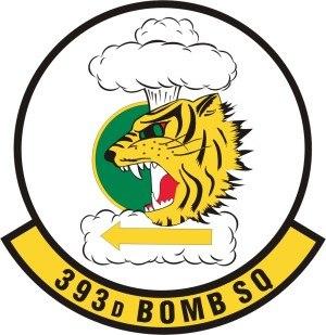 393d Bomb Squadron - 393d Bomb Squadron Patch
