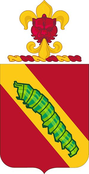 51st Coast Artillery Regiment - Coat of arms
