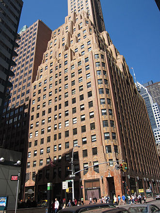 General Electric - General Electric Building at 570 Lexington Avenue, New York