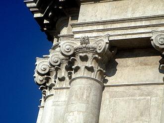 Composite order - Capitals, San Barnaba, Venice, 1777
