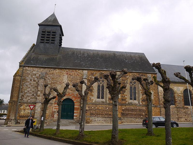 L'église Saint-Pierre du Sap.