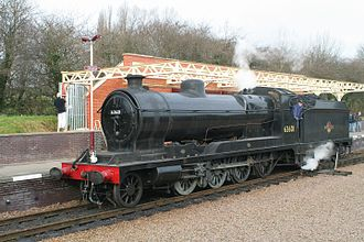 Great Central Railway - No. 63601, the sole surviving GCR Class 8K locomotive