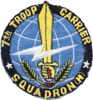 7th Airlift Squadron - Legacy Troop Carrier Squadron emblem