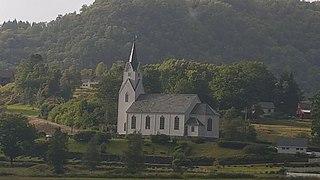 Uggdal Church Church in Vestland, Norway