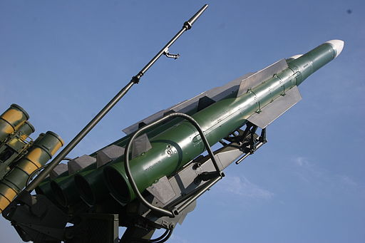 9M317 surface-to-air missile of Buk-M2E