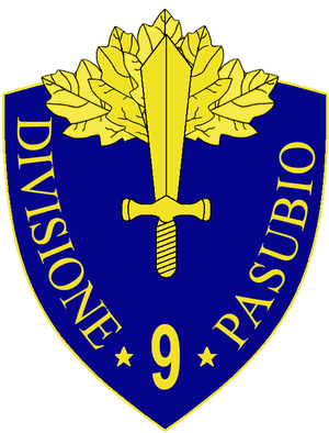 9th Infantry Division Pasubio - 9th Infantry Division Pasubio Insignia