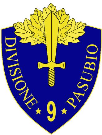 9th Infantry Division Pasubio - 9th Infantry Division Pasubio Insignia