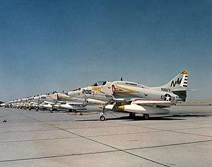 VFA-192 - VA-192 A-4Fs in 1967
