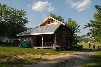 A. P. Carter Homeplace - View of the cabin in 2009