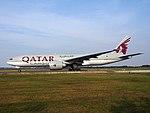 A7-BFE Qatar Airways Cargo Boeing 777-FDZ - cn 39644, 25august2013 pic-008.JPG