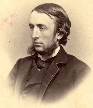 Andrew Dickson White - White, in 1865, when he co-founded Cornell University with Ezra Cornell.