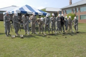 Armed Forces Chaplaincy Center - AFCC ground breaking, May 6, 2008