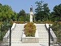 AIRM - bustul lui Mihai Eminescu din Iurceni, raionul Nisporeni (vedere generală) - aug 2011.jpg