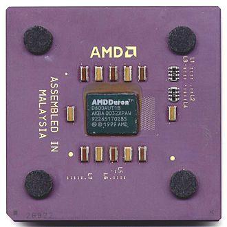"""Duron - AMD Duron """"Spitfire"""" 600MHz CPU"""