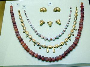 Heraklion Archaeological Museum - Minoan jewelry.