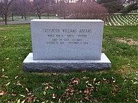 ANCExplorer Creighton Abrams grave.jpg
