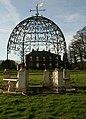 A Gazebo, Rowley Manor - geograph.org.uk - 681265.jpg