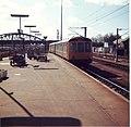 A Kings Cross train arrives at Peterborough Railway Station - geograph.org.uk - 2004325.jpg