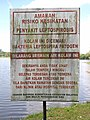 A Leptospirosis warning notice board.jpg