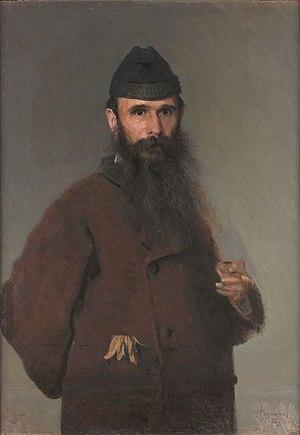 Alexander Litovchenko - Portrait by Ivan Kramskoi, 1878.
