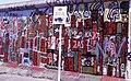 A brit szektor határa a Berlini Fal előtt a Postdamer Platznál. Fortepan 29567.jpg