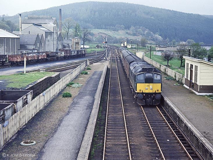 A class 24 arrives at Rothes