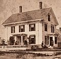 A house with two porches, Vinalhaven, Me, by William V. Lane crop.jpg