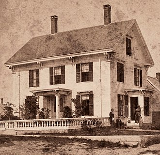 Vinalhaven, Maine - A residence c. 1880
