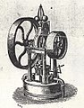 A small oscillating engine by Crosskills of Beverley as shown at the Great Exhibition of 1851(archive refDDX1080-3-9) (24133205098).jpg